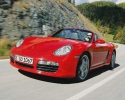 Provkörning av Porsche Boxster