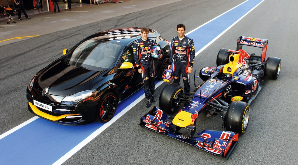 Megane R.S. Red Bull Racing Rb7