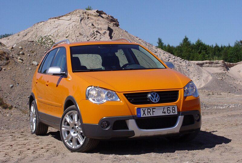Provkörning av Volkswagen CrossPolo