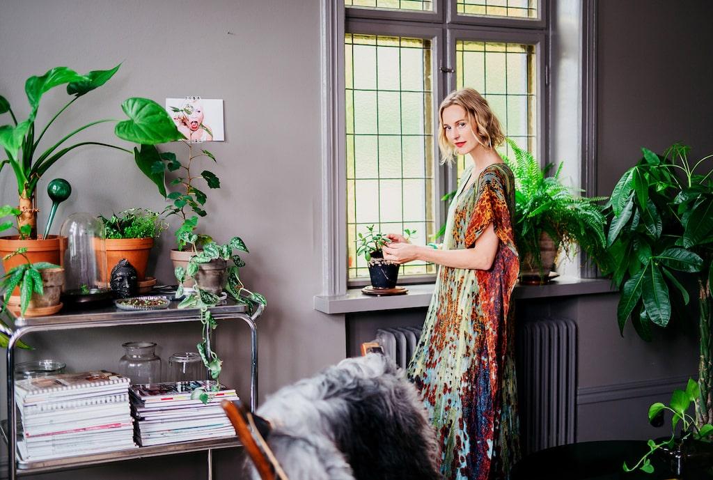 Malin Persson från Trädgårdstider – välkommen till hennes hem!