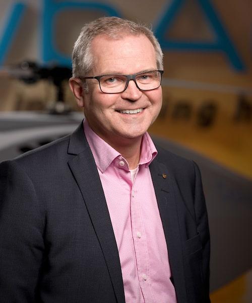 Mikael Hult är vd för CybAero som tillverkar förarlösa flygfarkoster.