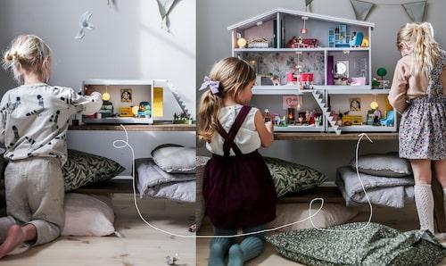 Room-modulerna kan varieras i en mängd kombinationer, bara fantasin sätter gränser. Starta med ett rum, eller sätt ihop Room som en undervåning till huset Life.