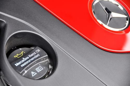 Bara Mercedes-olja när fabriken får bestämma.