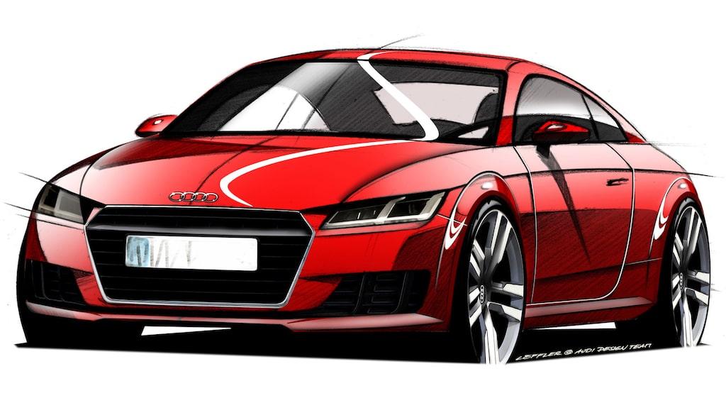 Nya Audi TT 2015