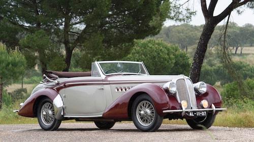 Delahaye 135M Cabriolet by Chapron