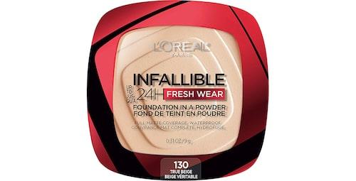 Recension på Infaillible 24h fresh wear foundation powder från L'Oréal Paris