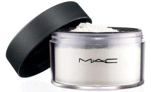 Prep + prime transparent finishing powder, MAC Cosmetics – minskar glans och döljer porer