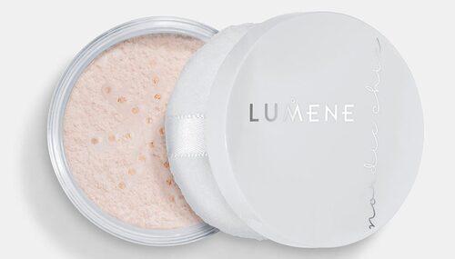 Nordic chic sheer finish loose powder, Lumene – hjälper mot glansig hud