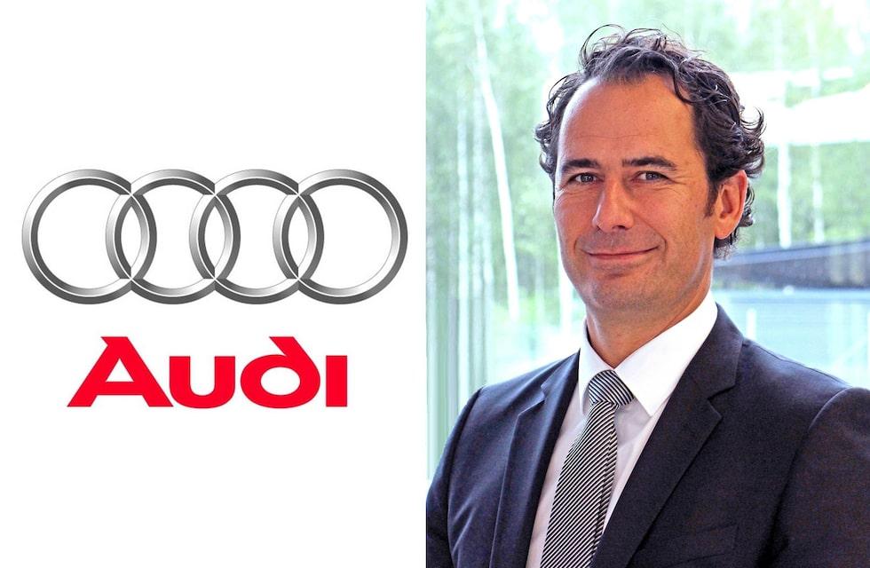 Marco Schubert är ny chef för Audi Sverige