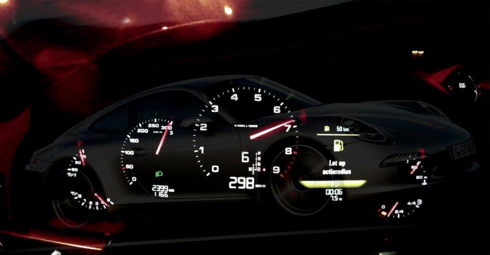Porsche 911 Carrera S gör 0-298 km/h på film