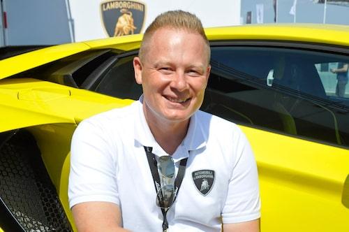 Mitja Borkert – designchef Lamborghini Centro Stile.