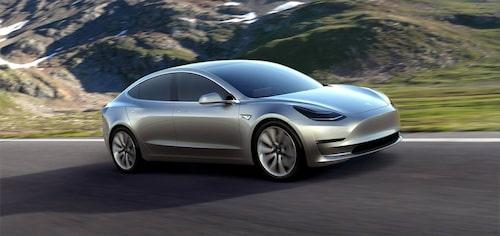 Model S ska få en front som mer stämmer överens med dem som finns på Model 3 (bilden) och Model X.