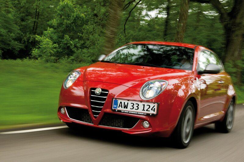 Provkörning av Alfa Romeo MiTo 1,4 Multiair Turbo QV