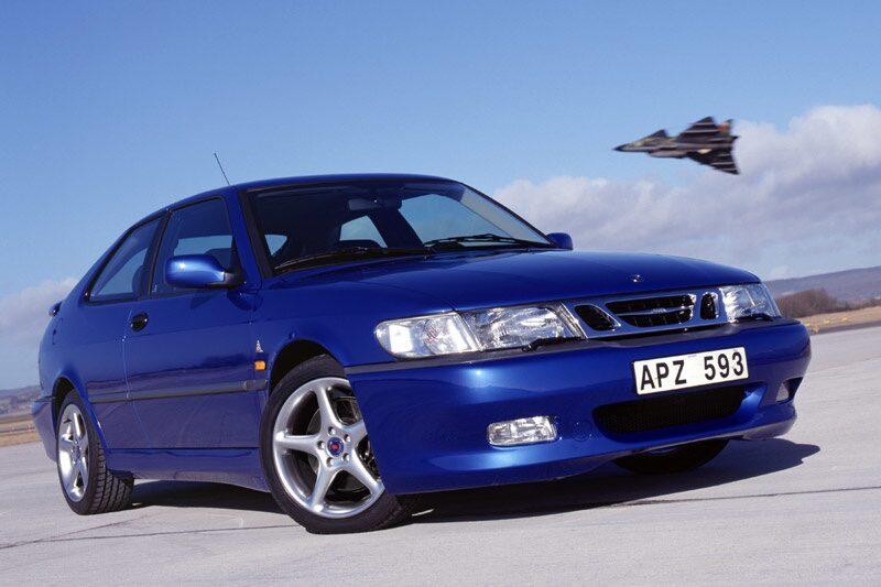 Saab 9-3 Viggen från 1999.