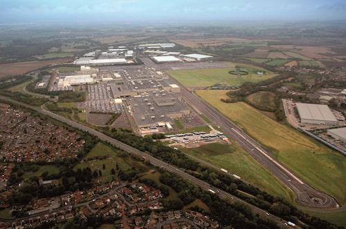 Hondas Swindon-fabrik.