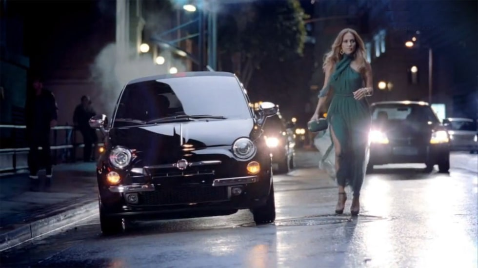 Fiat 500 och Jennifer Lopez