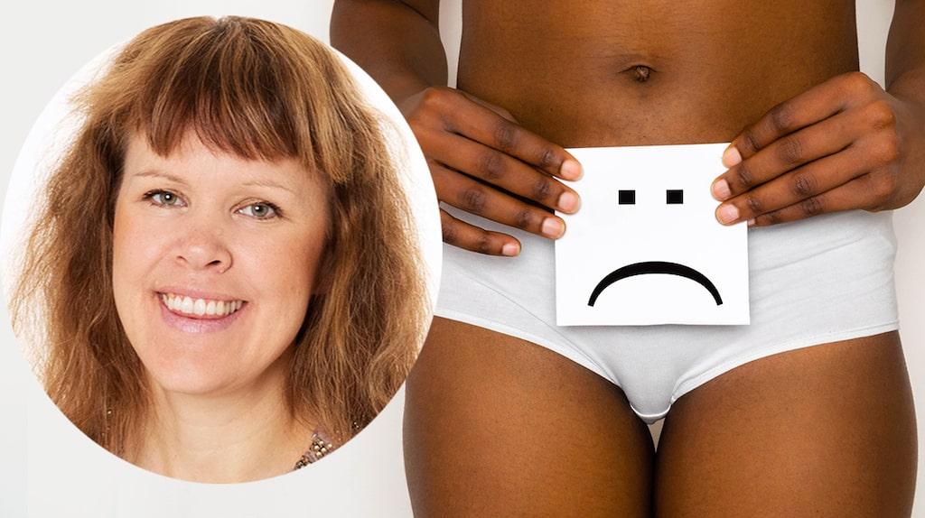 Kvinnoläkaren ger svar på vad man kan göra åt torra slemhinnor som gör ont vid sex.