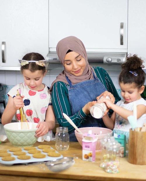 Med barnen i köket blir det kladdigt – men också extra kul!