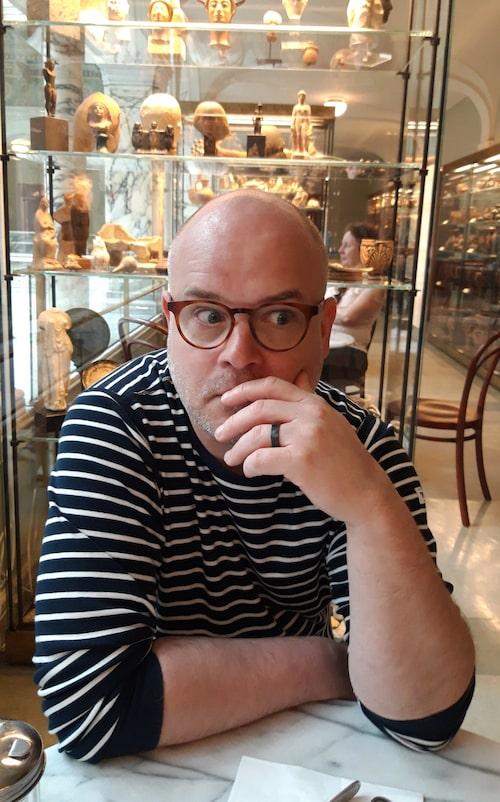 Erik Stenkula, förskollärare.