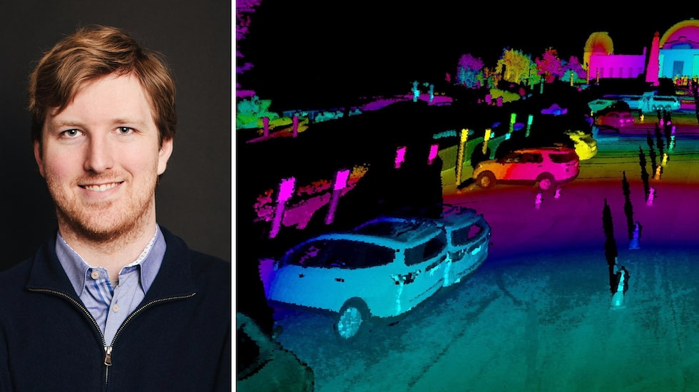 Luminars vd Austin Russell ska sälja färdiga system för självkörande bilar tillsammans med Volvo Cars.