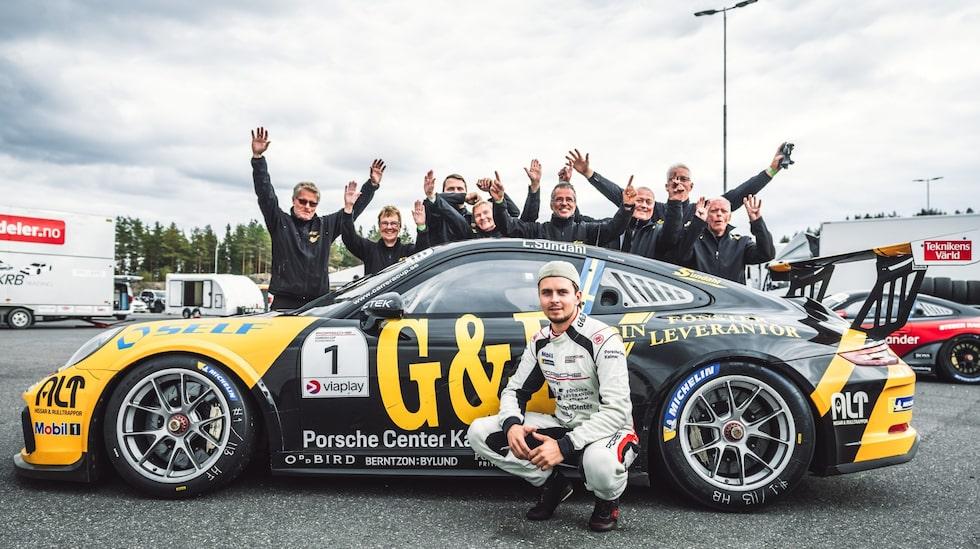 För fjärde gången vann Lukas Sundahl Porsche Carrera Cup Scandinavia.