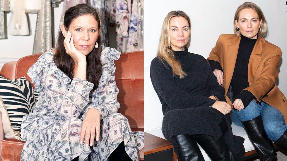 Ida Sjöstedt, Karin Söderlind och Sofia Wallenstam.