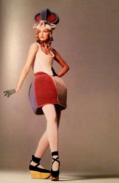 En från akriven: Vivienne Westwood 1987.