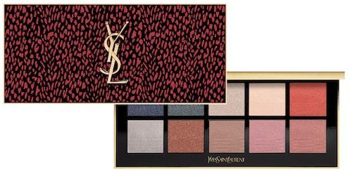 Eye Colour Clutch från Yves Saint Laurent påminner om modehusets snygga handväskor.
