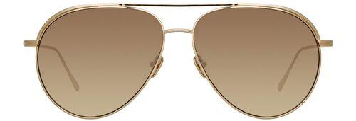 Solglasögon från Linda Farrow. Klicka på bilden och kom direkt till solglasögonen.