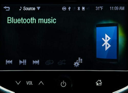 MyLink: Koppla ihop med Bluetooth