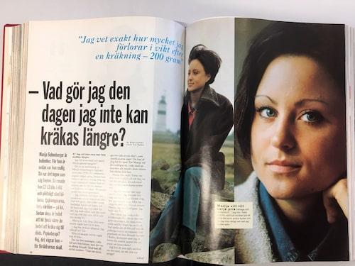 Maja talade ut om sitt liv i amelia våren 1997.
