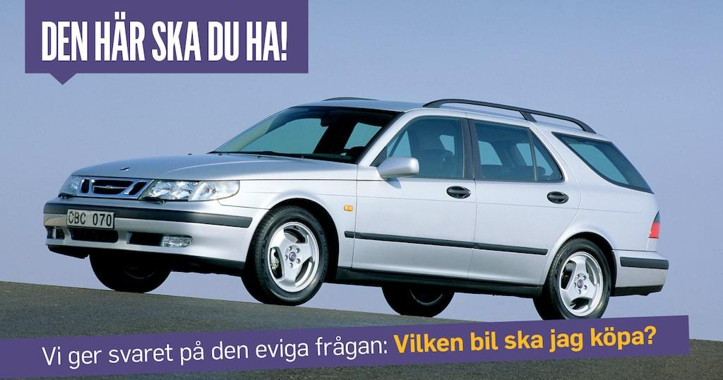 Saab 9-5 fick uppleva några ansiktslyft under åren, men mest till det sämre. Den första från 1997 är den snyggaste.