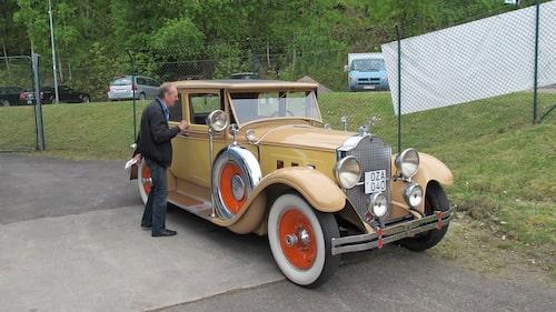 En Packard Doctor's Coupe från 1929.