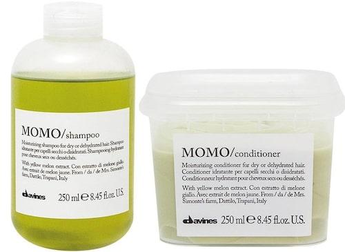 Recension på Essential haircare momo shampoo och momo conditioner, Davines.