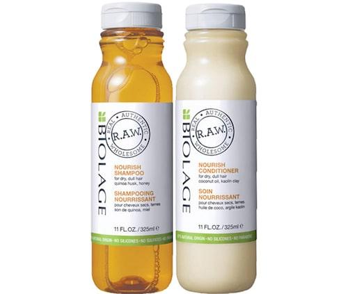 Recension på Raw nourish shampoo och nourish conditioner, 325 ml, Matrix Biolage.