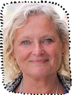 Mia Westlund, barnmorska, internationellt certifierad amningsrådgivare och hjälpmamma på Amningshjälpen.