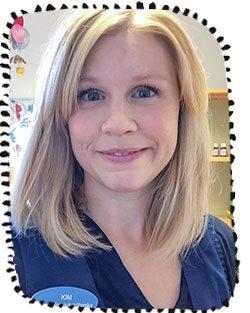 Kim Engqvist är distriktssköterska och jobbar på bvc i Stockholm.