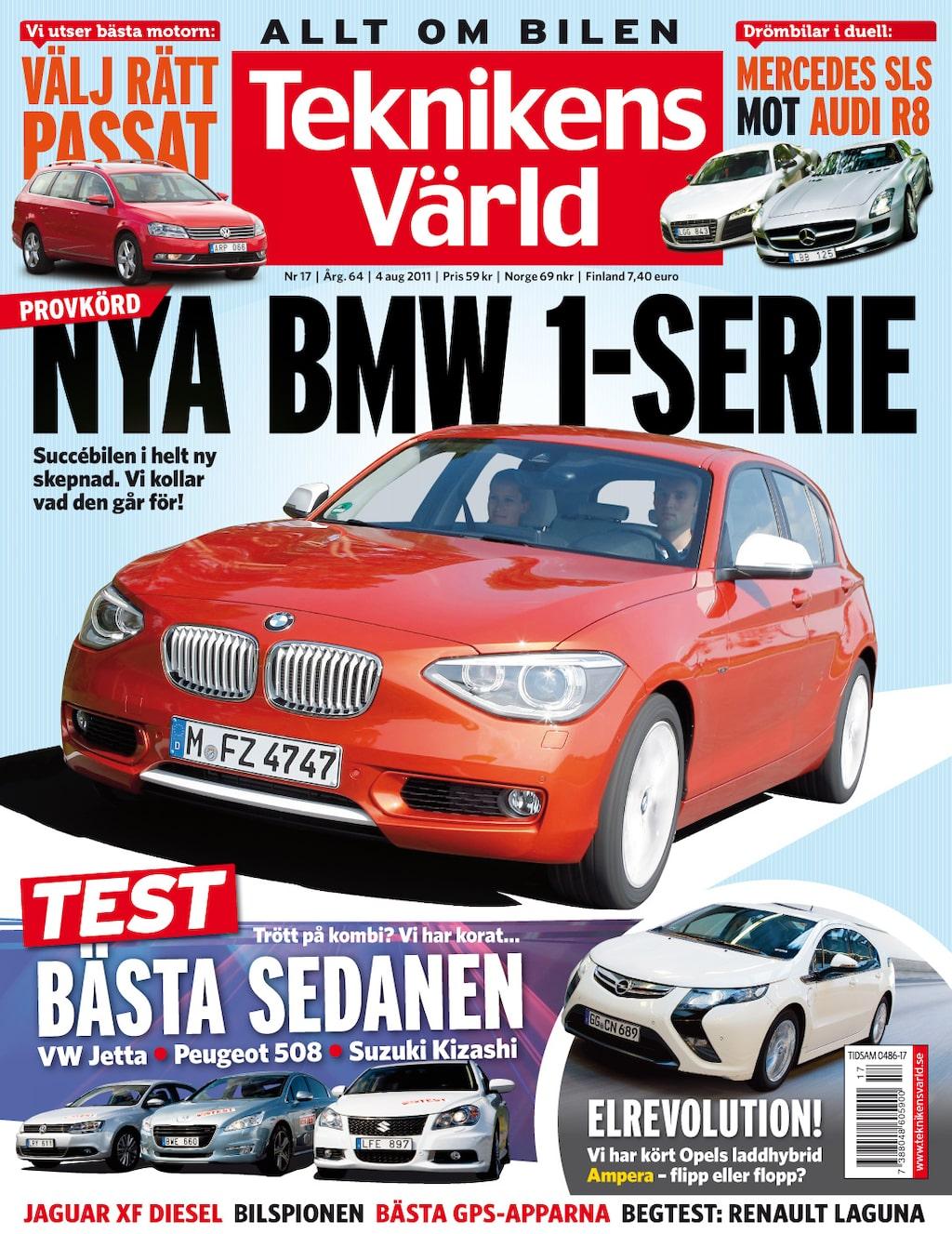 Teknikens Värld nummer 17 / 2011