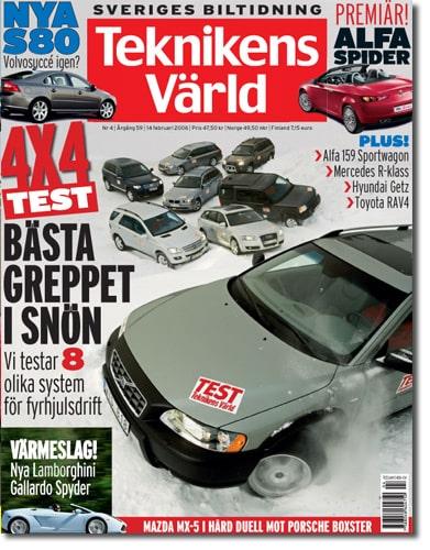 Teknikens Värld nummer 4 / 2006