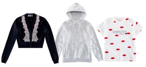 Hoodies och t-shirtar från Giambattista Valli x H&M.