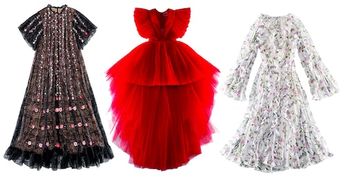 Klänningar från Giambattista Valli x H&M.