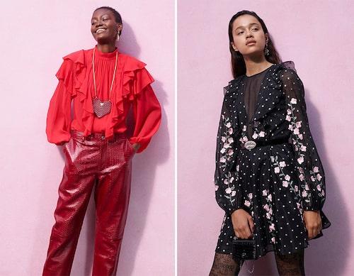 """""""Att kunna dela hans design med våra kunder har länge varit en dröm för oss och vi ser så fram emot att se reaktionerna på denna vackra kollektion"""", sägerAnn-Sofie Johansson, kreativ rådgivare på H&M."""