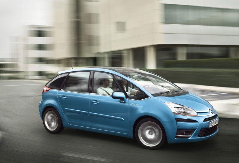 Provkörning av Citroën C4 Picasso 5-sits