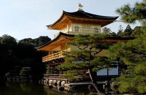 Guldpaviljongen i Kyoto