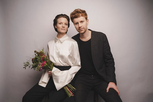 Bite Studios vinnare av Damernas Värld Guldknappen 2020. På bilden syns två av grundarna William Lundberg och Veronika Kant. På bilden saknas Suzanne Elvi och Elliot Atkinson.