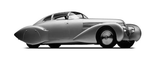 Inspirationskällan H6C Dubonnet Xenia har bland annat visats upp under Concours of Elegance vid Windsor Castle 2016.