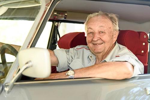 Curt Nileman är mångårig Citroën-entusiast som brinner för DS-serien.