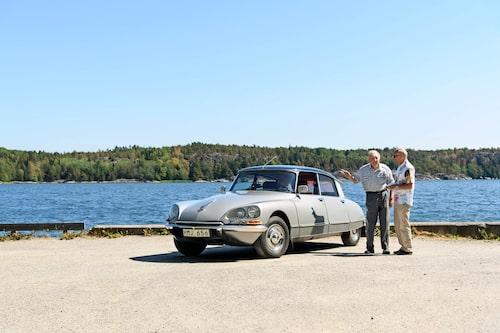 En gammal Citroën-verkmästare drar historier. Det Curt Nileman inte vet om DS-modellen är inte värt att veta.