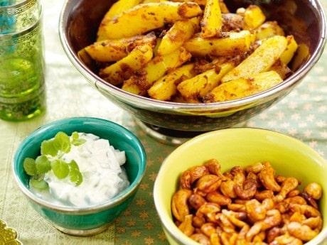 Recept på kryddiga cashewnötter som är sötstarka och supergoda!