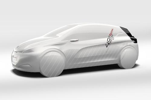 Peugeot 208 HYbrid FE.